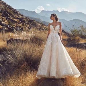 Blushing Bridal Boutique Calla Blanche, Carla, Spring 2019 collection, New Collection 2019 .bridal-wedding-wedding gown-Mississauga-woodbridge-vaughan-toronto-gta-ontario-canada-montreal-buffalo-NYC-california