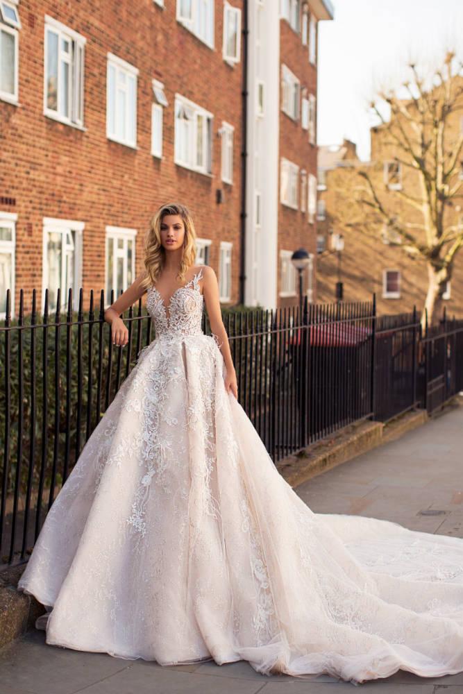 Blushing Bridal Boutique ,MillaNova, Karen, Blooming London, New Collection 2019,-wedding-wedding gown-Mississauga-woodbridge-vaughan-toronto-gta-ontario-canada-montreal-buffalo-NYC-california