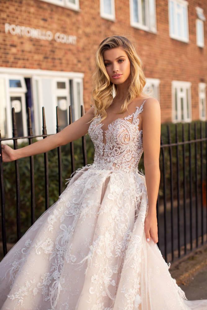 Blushing Bridal Boutique ,MillaNova, Karen, Blooming London, New Collection 2019,wedding-wedding gown-Mississauga-woodbridge-vaughan-toronto-gta-ontario-canada-montreal-buffalo-NYC-california