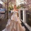 Blushing Bridal Boutique ,MillaNova, Magda with train, Blooming London, New Collection 2019,wedding gown-Mississauga-woodbridge-vaughan-toronto-gta-ontario-canada-montreal-buffalo-NYC-california