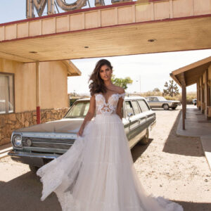 Monica, Milla Nova,California Dreaming, Blushing Bridal Boutique, Toronto, Canada, USA