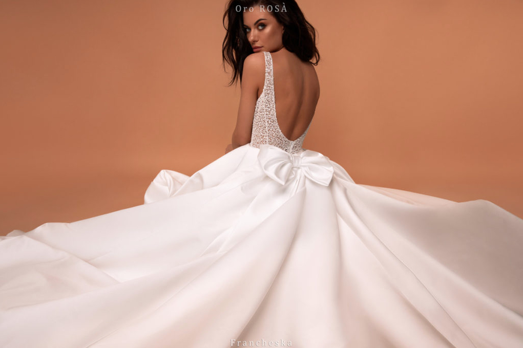 Francheska, Giovanna Alessandro, Oro Rosa, Blushing Bridal Boutique