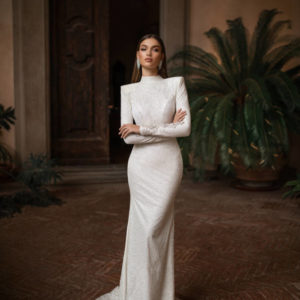 LETIZIA,Milla Nova, Royal, Blushing Bridal Boutique