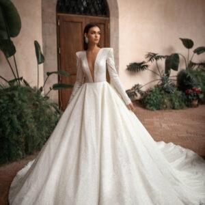 THERESIA,Milla Nova, Royal Collection Blushing Bridal Boutique, Toronto, Canada, USA