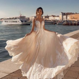 Amila, Viero Bridal, Venice Flood, Blushing Bridal Boutique, Toronto