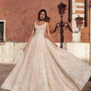 Anabella, Viero Bridal, Venice Flood, Blushing Bridal Boutique, Toronto