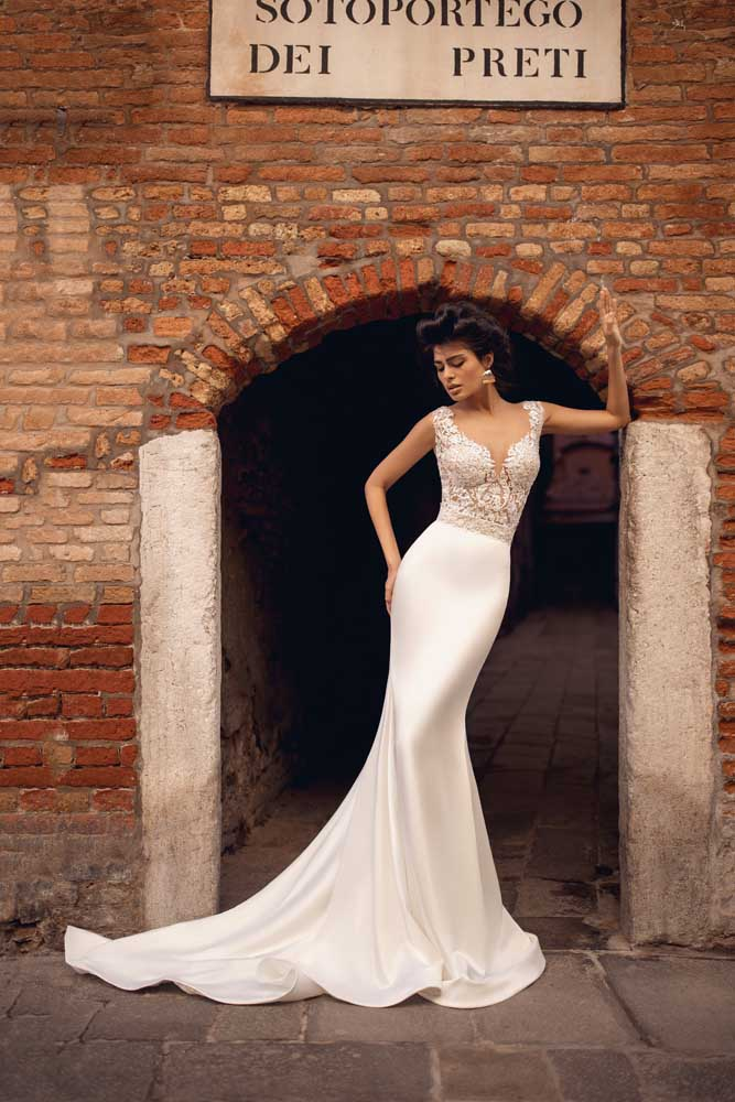 Pamelia, Viero Bridal, Venice Flood, Blushing Bridal Boutique, Toronto