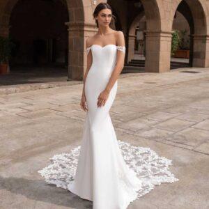 Syrinx, Pronovias, Blushing Bridal Boutique, Toronto, Canada, USA