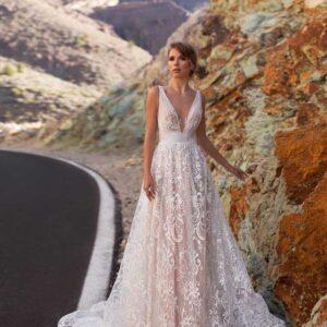 Milla, Ari Villoso, Allure Tones, Blushing Bridal Boutique, Toronto, Canada, USA