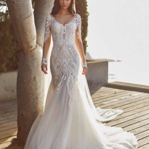 Cypress, Pronovias, Blushing Bridal Boutique, Toronto, Canada, USA