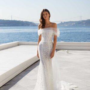 Irma, Milla Nova, White & Lace Blushing Bridal Boutique, Toronto, Canada, USA