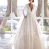 Brown, Pronovias, Blushing Bridal Boutique, Toronto, Canada, USA