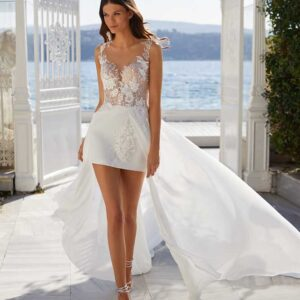 Xenia,Milla Nova, White & Lace Blushing Bridal Boutique, Toronto, Canada, USA