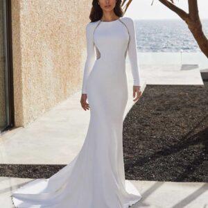 adela, Pronovias, Blushing Bridal Boutique, Toronto, Canada, USA