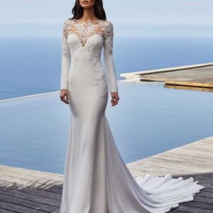 clarence,Pronovias, Blushing Bridal Boutique, Toronto, Canada, USA