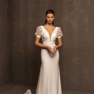 Flora, Ari Villoso, Capsule ,Blushing Bridal Boutique, Toronto, Canada, USA