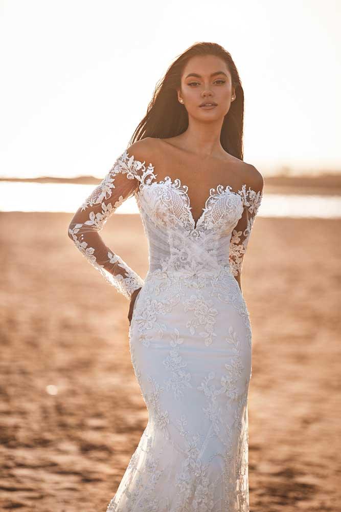 Harper, Milla Nova, Lorenzo Rossi, Milla by Lorenzo Rossi , White Label, Blushing Bridal Boutique, Toronto, Canada, USA