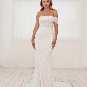 Dakota Jane Hill , White Label, MuseSS21 ,Blushing Bridal Boutique, Toronto, Canada, USA